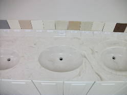 Custom Made Vanity Tops For Your Bathroom Sink And Laundry Sinks.